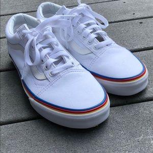 3be2705a0c0e Vans Shoes - Women s Vans Rainbow Foxing Old Skool Sneaker .